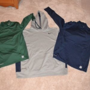 Nike Coldgear Sweatshirt and Thermals Size XL